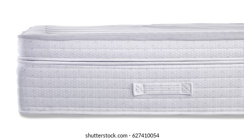 isolated white background mattress