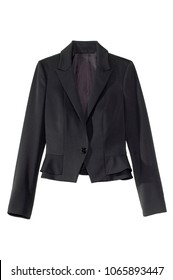 isolated women's blazer jacket