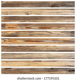 isolated wood planks for floor for parquet design