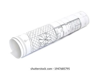 Einzelzeichnung für den Projektingenieur