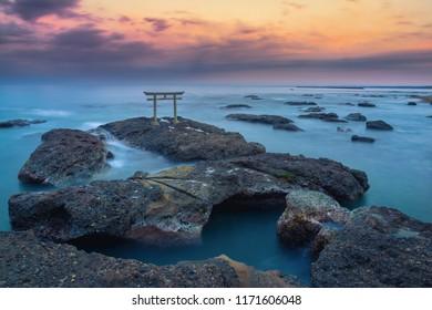 Isosaki-jinga Shirne - Ibaraki Prefecture.