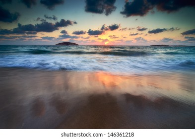 Israel beautiful coast.