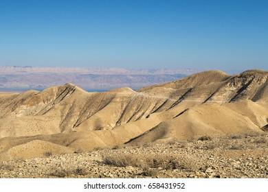 Israel, desert, desert landscape, sun, Rocky desert, sun, Rocky desert, canyon, Jordan