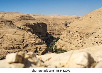 Israel, desert, mar jaris (st. george), desert landscape, sun, Rocky desert, canyon, desertion
