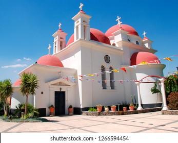 Israel, Galilee, Capernaum, the Greek Orthodox Church