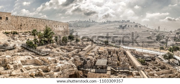 Israel Jerusalem Mount of Olives