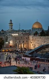 Israel, Jerusalem, wailing wall, mosque, Orthodox, Jew, Jewish, Shabbat