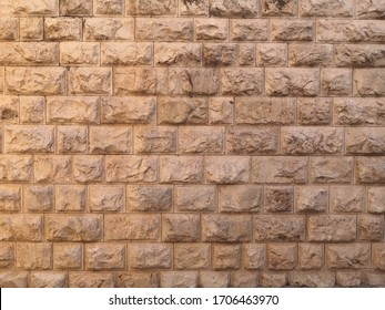 Israel  old city stone texture