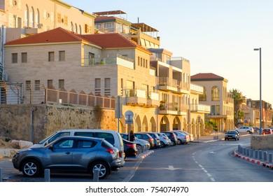 ISRAEL - Tel Aviv, 09 November 2017: jaffa building