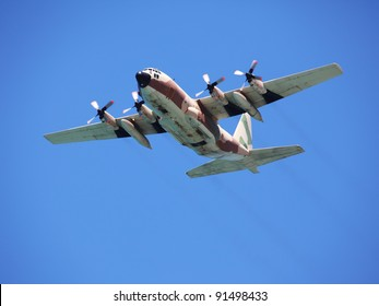 Israeli Air Force Hercules C-130 Transport Plane