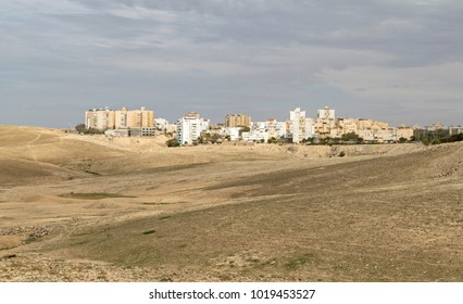 Israeli city of Arad in the South Judean Desert part of the Negev