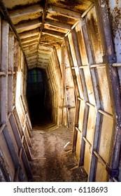 Israeli defense bunker tunnel