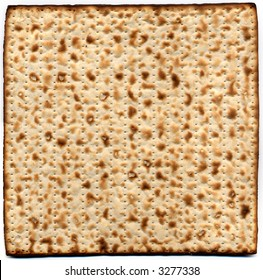 Israeli Matzah - Jewish bread for celebrating Passover.