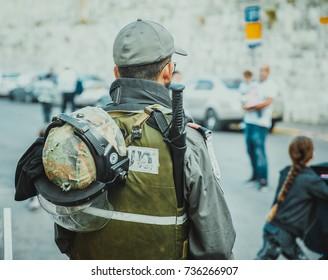 Israeli soldiers , Security in Jerusalem