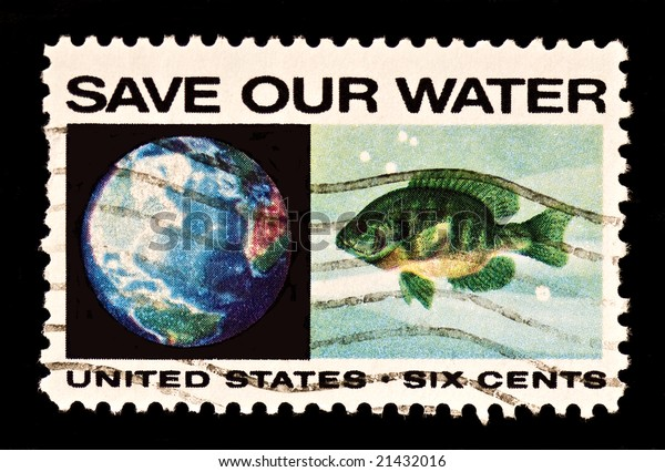 Issued in 1970 to focus attention on the problem of water pollution