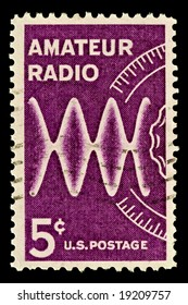 Issued to Honor radio amateurs. Amateur Radio was issued in 1964.