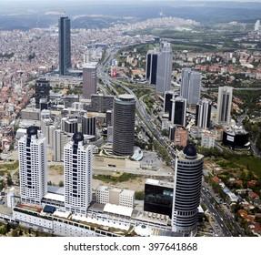 istanbul aerial photographs. istanbul, Turkey, 20 April 2013