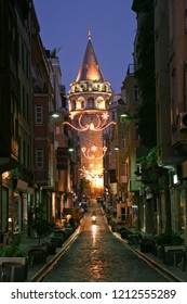 istanbul architecture and galata tower with all its splendor
