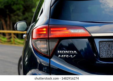 ISTANBUL - AUGUST 20, 2019 : Honda HR-V is a subcompact crossover SUV produced by Honda.
