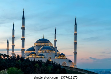 Istanbul Camlica Mosque or Camlica Tepesi Camii, Istanbul, Turkey