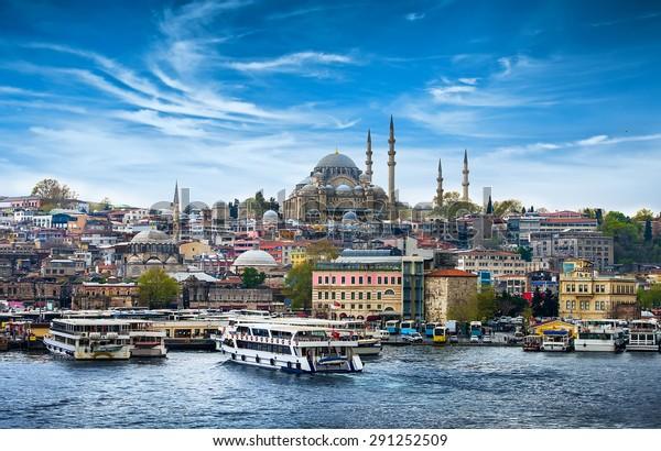 東部の観光都市、トルコの首都イスタンブール。