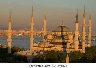 Istanbul city and mosques
