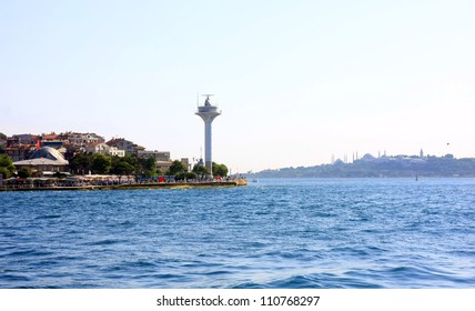 Istanbul city, the view from water