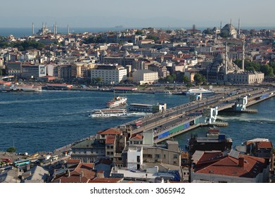 Istanbul and Golden Horn