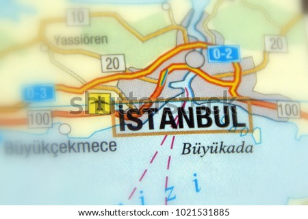 Istanbul Historically Known Constantinople Byzantium City Stock ...