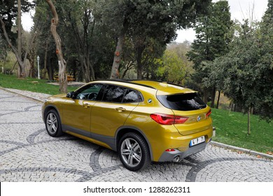 ISTANBUL - JANUARY 18, 2019 : BMW X2 is a subcompact luxury SUV manufactured by BMW.