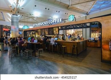 Starbucks Interior Images, Stock Photos & Vectors   Shutterstock