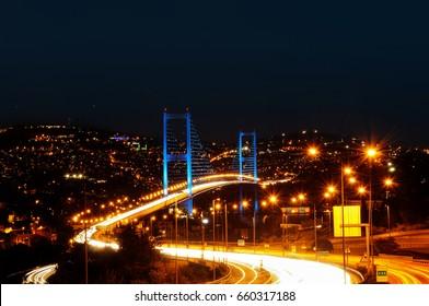 Istanbul Nights, Istanbul TurkeyIstanbul Bosporus Bridge