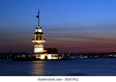 Istanbul sightseeing Maiden Tower