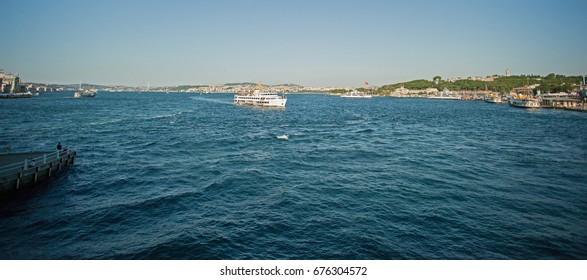 Istanbul summer luxury marina