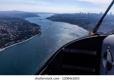Istanbul Through Helicopter