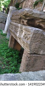 Istanbul / Turkey - 06 06 2019: Istanbul Archeology Museum Garden Exterior.