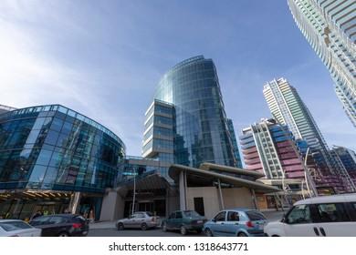 Istanbul, Turkey, 2 February 2019: Maslak 1453 mixed use gigantic complex