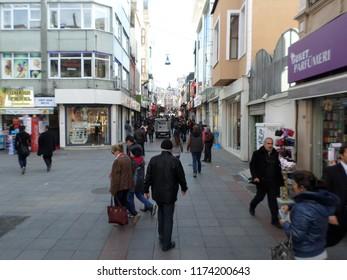 Istanbul, Turkey. 20 December 2018 - Winter scenery of Instanbul