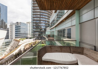Istanbul, Turkey 2015-03-18 Kanyon Mixed use complex in levent region
