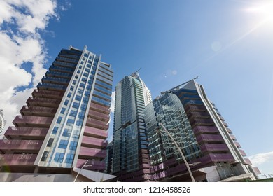 Istanbul, Turkey 2016-09-01: Maslak 1453 mixed use gigantic complex
