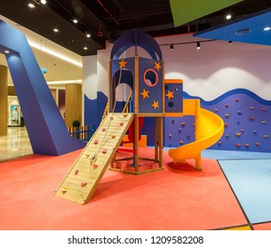 Istanbul, Turkey 2017-05-17: Kindergarten in Emaar Square Shopping Mall