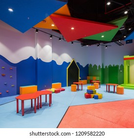 Istanbul, Turkey 2017-05-17: Kindergarten in Emaar Square Shopping Mall