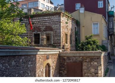 Istanbul, Turkey, 21 April 2006: Virgin Mary Greek Orthodox Church at Balat, Halic