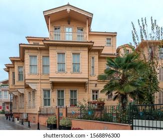 istanbul - turkey. 23 november. restored historic building