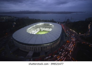 ISTANBUL, TURKEY, 25 March 2016 New stadium of Basiktas football club will be open in April