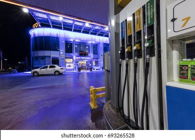 Istanbul, Turkey -August 5, 2017; Opet gas station in Istanbul. Opet is a leading oil and gas marketing and distribution company based in Turkey.
