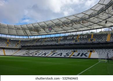 ISTANBUL, TURKEY - CIRCA SEPTEMBER 2016: Besiktas Vodafone Arena stadium