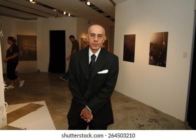 ISTANBUL, TURKEY - DEC  20: Turkish professor, writer, art critic, scholar Hasan Bulent Kahraman Portrait on  December  20, 2006 in Istanbul, Turkey.