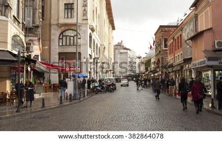 Istanbul Turkey Dec 30 View Legacy Stock Photo Edit Now 382864078