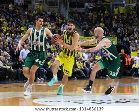 dc6f660ca ISTANBUL TURKEY FEBRUARY 08 2019 Euro League Stock Photo (Edit Now ...